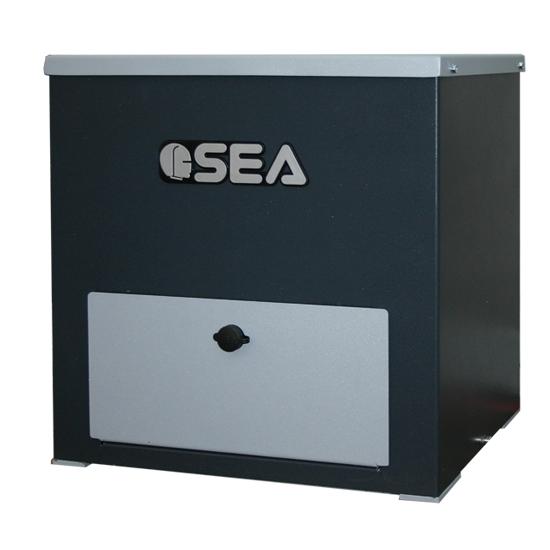 Привод для промышленных откатных ворот Lepus Box 2000