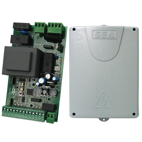 Аналоговый блок управления SEA Slide AN с программированием через триммер или кнопки для шлагбаумов