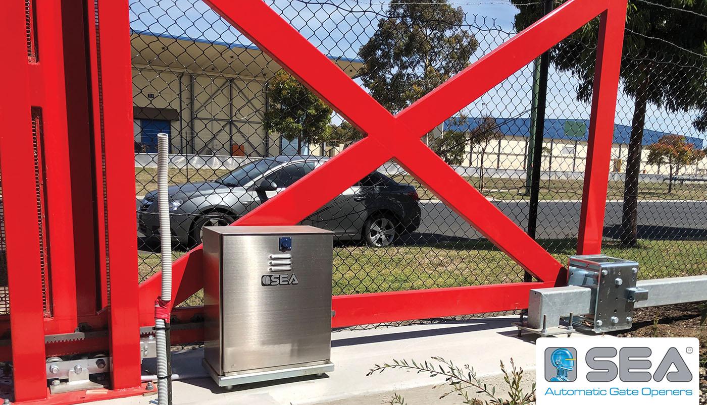 Гидравлический привод в масляной ванне для промышленных откатных ворот