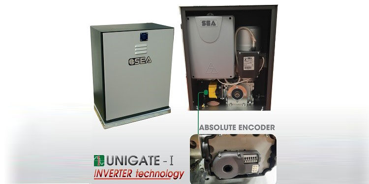 BIG 2000 SUPER FAST equipped with ABSOLUTE ENCODER