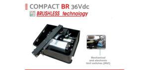 Новый бесщёточный подземный привод распашных ворот COMPACT 800 BR 36Vd уже доступен для заказа